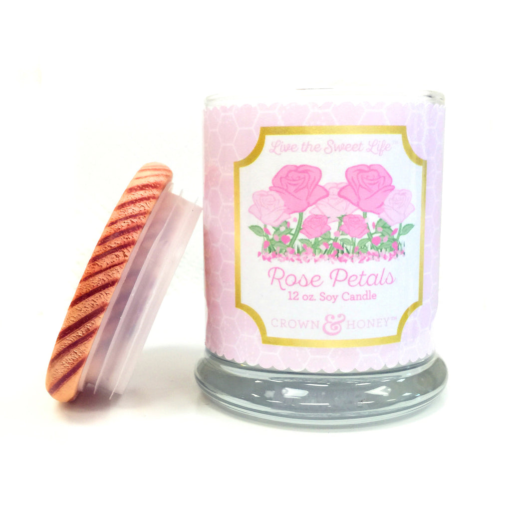 Rose Petals 12 oz. Scented Candle