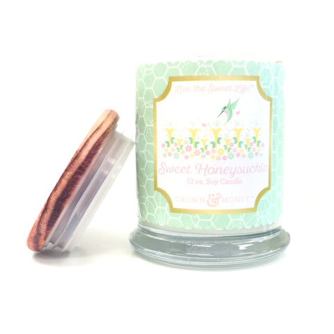 Sweet Honeysuckle 12 oz. Scented Candle