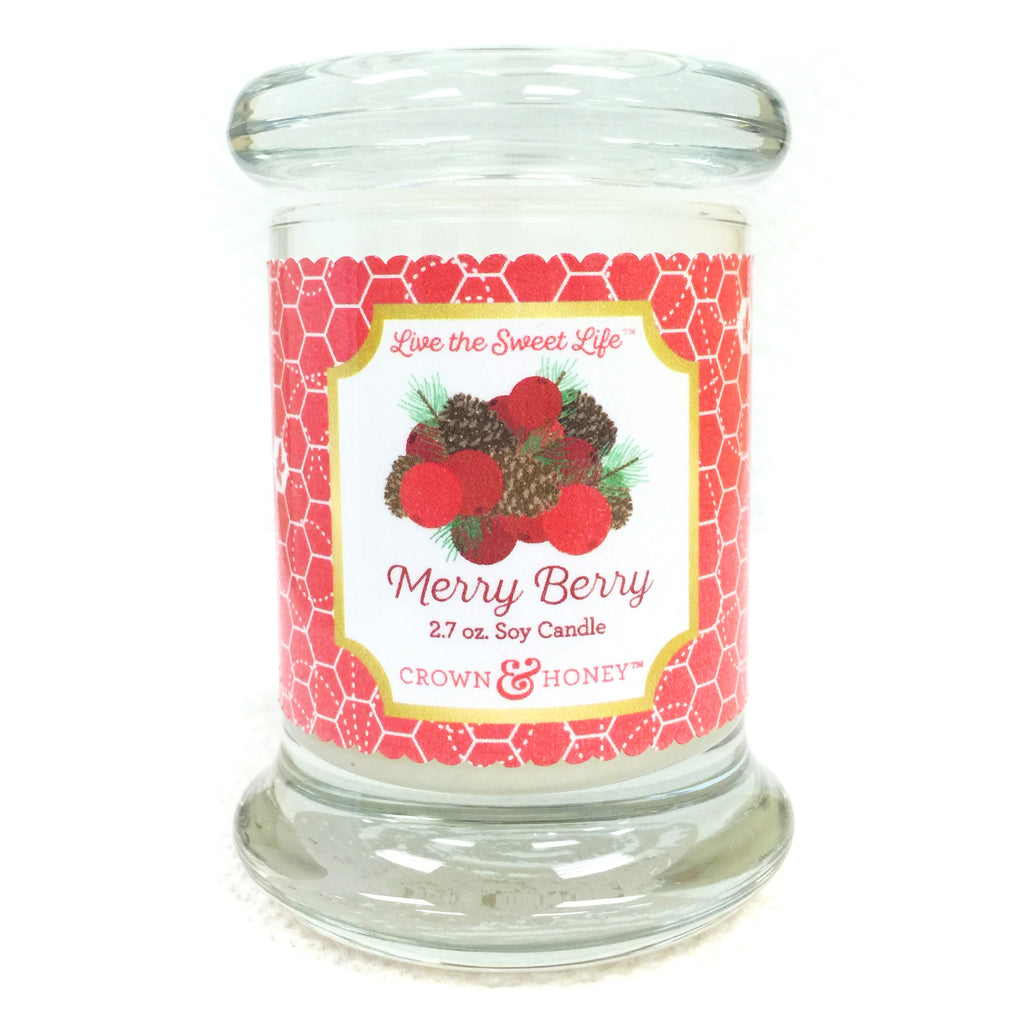 Merry Berry 2.7 oz. Scented Candle