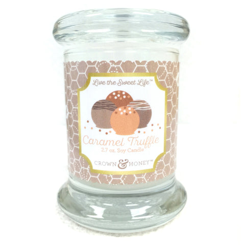 Caramel Truffle 2.7 oz. Scented Candle