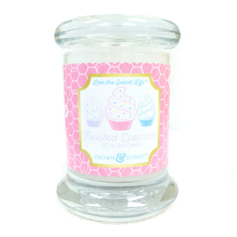 Frosted Cupcake 2.7 oz. Scented Candle