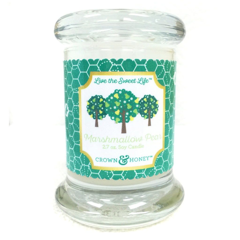 Marshmallow Pear 2.7 oz. Scented Candle