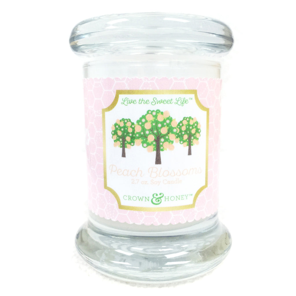 Peach Blossoms 2.7 oz. Scented Candle