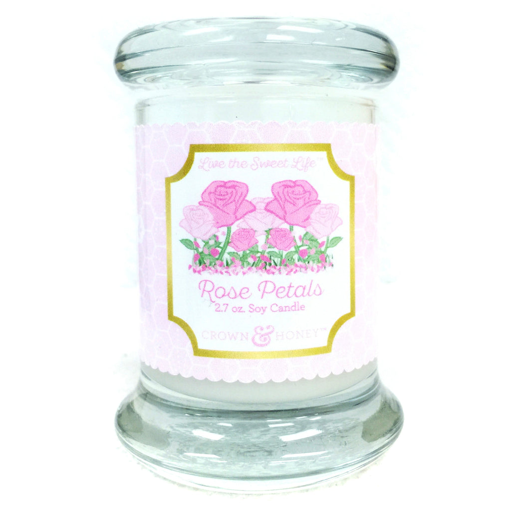 Rose Petals 2.7 oz. Scented Candle
