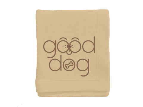 Good Dog Fleece Stadium Blanket
