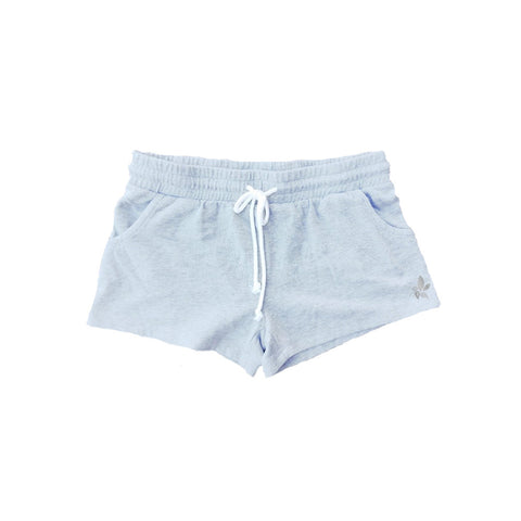 Grey Fleece Shorts