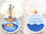 Noah's Ark Boy Custom Christmas Ornament