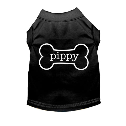 *CUSTOM* Dog Bone Name Short Sleeve Puppy Tee