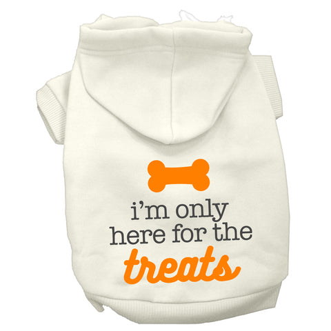 I'm Just Here For The Treats Puppy Hoodie