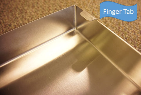 Atlantic Food Pans - Finger Tab