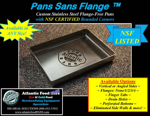 Atlantic Food Pans - NSF Certified Rounded Corners