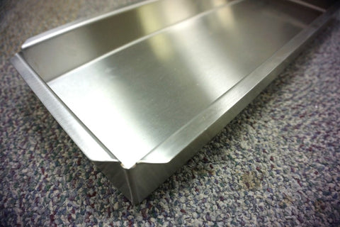 "12"" x 20"" x 4""   Flanges On All Sides •Vertical Sides• •Closed Corners•"