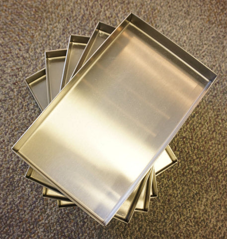 "7"" x 28"" x 1""   •Flange-Free• •Vertical Sides• •Closed Corners•"