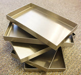 "7"" x 7"" x 2""   •Flange-Free• •Vertical Sides• •Closed Corners•"