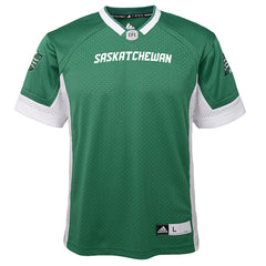 Saskatchewan Roughriders adidas Youth (8-18) Premier Jersey