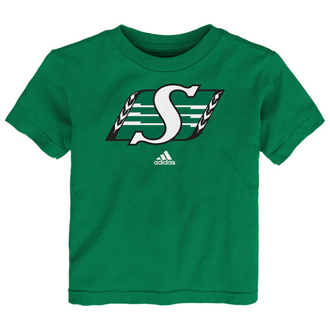 Saskatchewan Roughriders Adidas Youth (2-4) S/S Primary Logo Tee