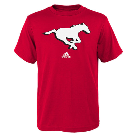 Calgary Stampeders Adidas Youth (8-18) S/S Primary Logo Tee