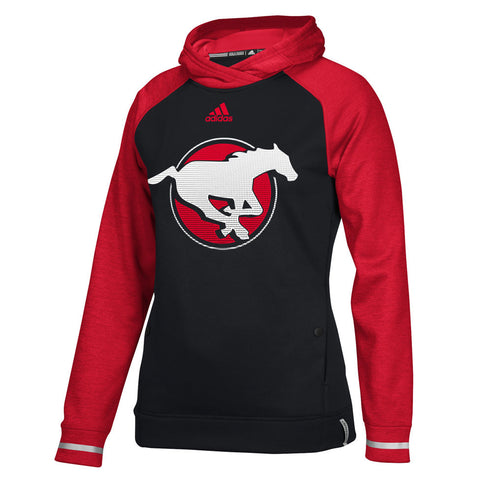 Calgary Stampeders Adidas Women's Pop Over Hood