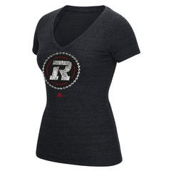 Ottawa REDBLACKS Adidas Women's Primary Distress Tee