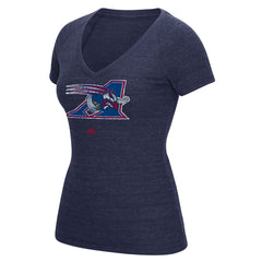 Montreal Alouettes Adidas Women's Primary Distress Tee