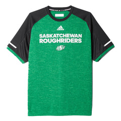 Saskatchewan Roughriders Adidas Sideline S/S Player Performance Crew