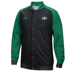 Saskatchewan Roughriders Adidas Sideline Anthem Warm-Up Jacket