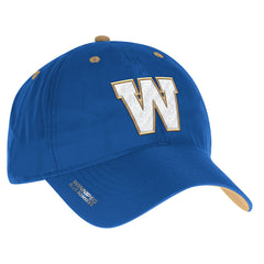 Winnipeg Blue Bombers Adidas Sideline Coaches Adjustable Slouch Reflective Cap