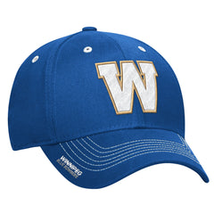 Winnipeg Blue Bombers Adidas Sideline Coaches Flex Structured Cap