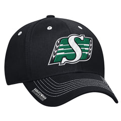 Saskatchewan Roughriders Adidas Sideline Coaches Flex Structured Cap - Black
