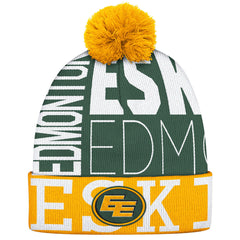 Edmonton Eskimos Adidas Cuffed Pop Knit Toque