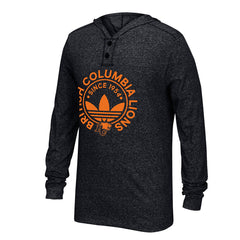 BC Lions Adidas Hooded Henley
