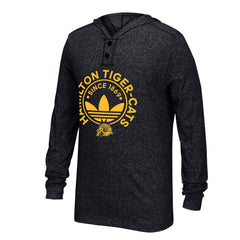 Hamilton Tiger-Cats Adidas Hooded Henley