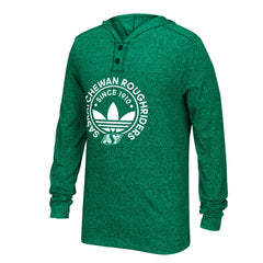 Saskatchewan Roughriders Adidas Hooded Henley