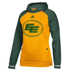 Edmonton Eskimos Adidas Women's Pop Over Hood