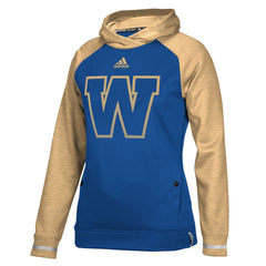 Winnipeg Blue Bombers Adidas Women's Pop Over Hood