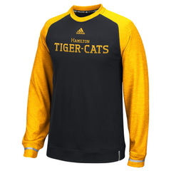 Hamilton Tiger-Cats Adidas Sideline L/S Player Performance Crew