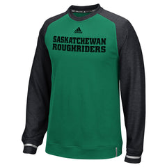 Saskatchewan Roughriders Adidas Sideline L/S Player Performance Crew