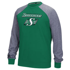 Saskatchewan Roughriders Adidas L/S Fleece Raglan