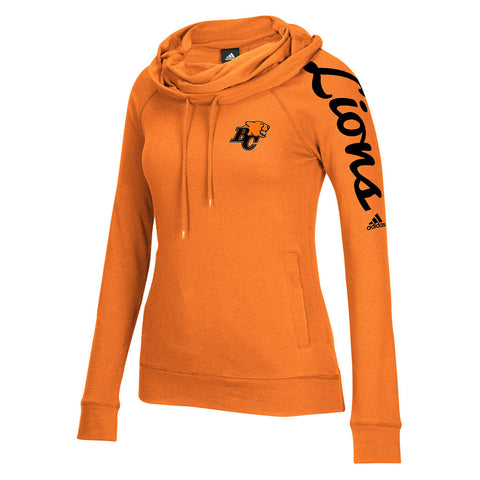 BC Lions Adidas Women's Funnel Neck Hoodie