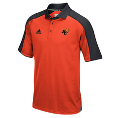 BC Lions Adidas Sideline S/S Coaches Polo - Orange