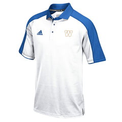 Winnipeg Blue Bombers Adidas Sideline S/S Coaches Polo