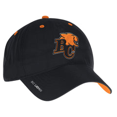 BC Lions adidas Sideline Coaches Adjustable Slouch Reflective Cap - Black