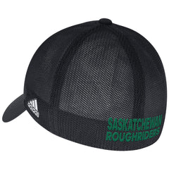 Saskatchewan Roughriders Adidas Sideline Coaches Flex Slouch Cap - Black
