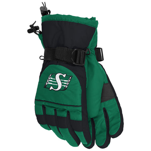 Saskatchewan Roughriders Adidas Sideline Nylon Gloves