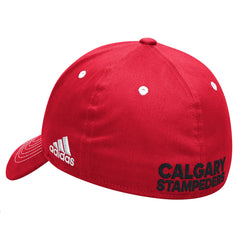 Calgary Stampeders Adidas Sideline Coaches Flex Structured Cap