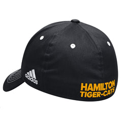Hamilton Tiger-Cats Adidas Sideline Coaches Flex Structured Cap