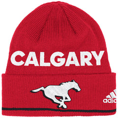 Calgary Stampeders Adidas Sideline Coaches Cuffed Toque