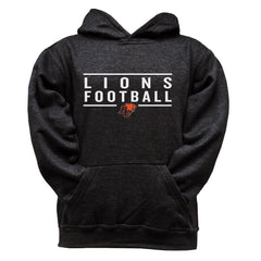 BC Lions Youth Black Hoodie - Design 24