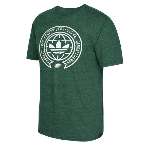 Saskatchewan Roughriders Adidas Around The World Tee