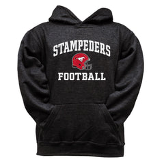 Calgary Stampeders Youth Black Hoodie - Design 27